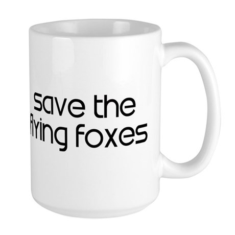 Save the Flying Foxes Large Mug