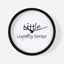 Little Learning Mentor Wall Clock