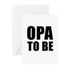Opa to be Greeting Cards (Pk of 10)