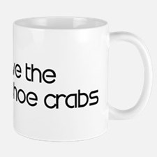 Save the Horseshoe Crabs Mug