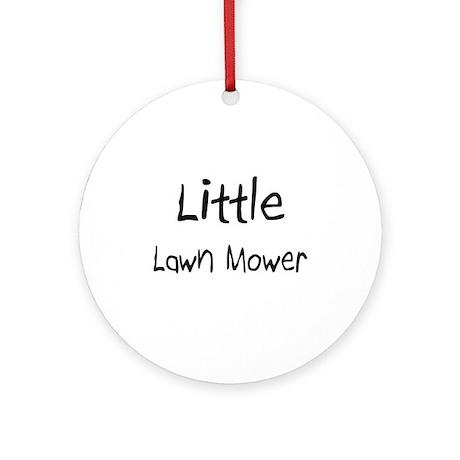 Little Lawn Mower Ornament (Round)