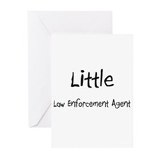 Little Law Enforcement Agent Greeting Cards (Pk of