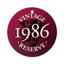Vintage Reserve 1986 Ornament (Round)
