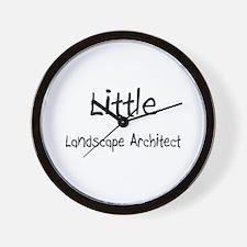 Little Landscape Architect Wall Clock