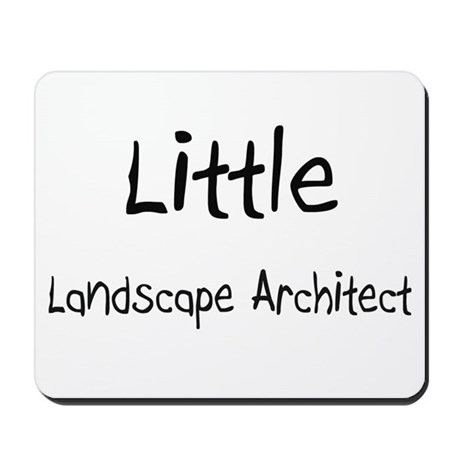 Little Landscape Architect Mousepad