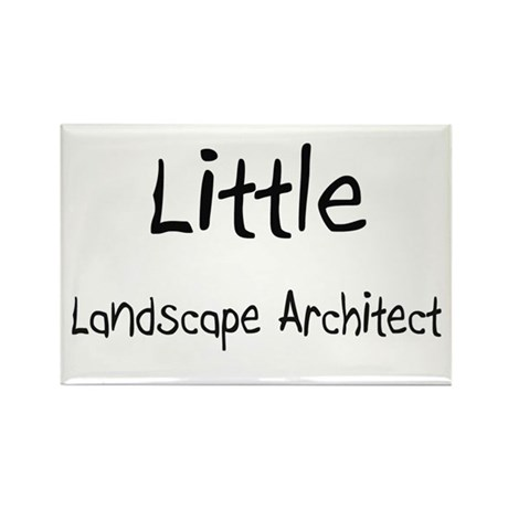 Little Landscape Architect Rectangle Magnet