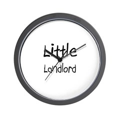 Little Landlord Wall Clock