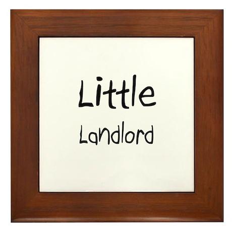 Little Landlord Framed Tile