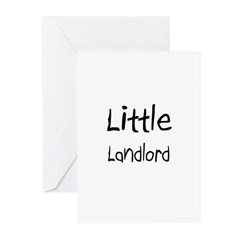 Little Landlord Greeting Cards (Pk of 10)