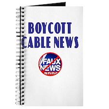 Boycott Cable News Journal