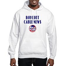Boycott Cable News Hoodie