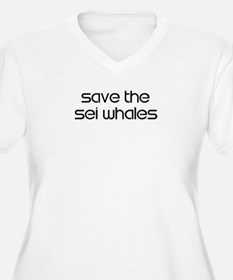 Save the Sei Whales T-Shirt