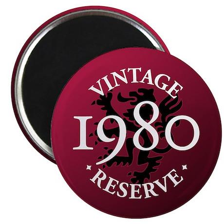 """Vintage Reserve 1980 2.25"""" Magnet (100 pack)"""