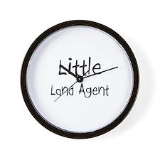 Little Land Agent Wall Clock