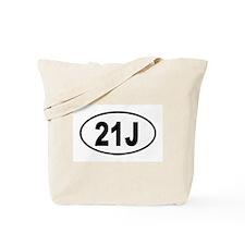 21J Tote Bag