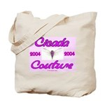 Cicada Couture Pink Tote Bag