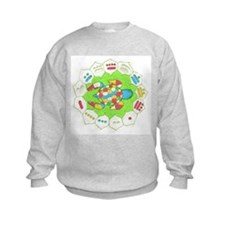 Turtle Time Art Sweatshirt