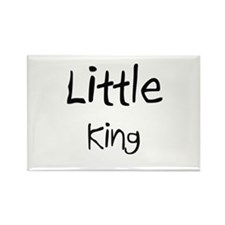 Little King Rectangle Magnet