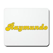 Retro Raymundo (Gold) Mousepad