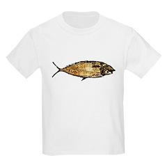 Darwin not fiction Kids T-Shirt