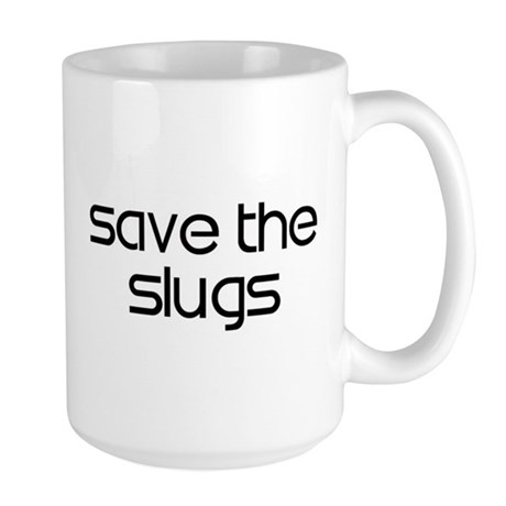 Save the Slugs Large Mug