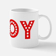 Retro Troy (Red) Mug