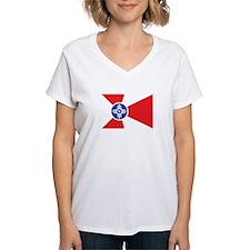 WICHITA Womens V-Neck T-Shirt
