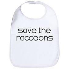 Save the Raccoons Bib