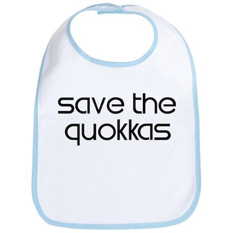 Save the Quokkas Bib