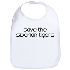Save the Siberian Tigers Bib