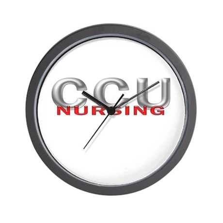CCU NURSING Wall Clock
