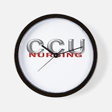 CCU NURSING Wall Clock