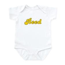 Retro Reed (Gold) Infant Bodysuit
