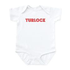 Retro Turlock (Red) Infant Bodysuit