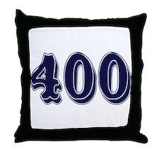 400 Throw Pillow