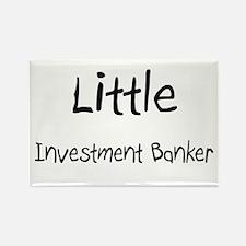 Little Investment Banker Rectangle Magnet