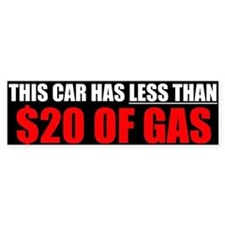 Soaring Gas Prices - Bumper Sticker