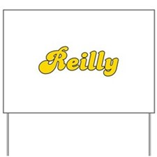 Retro Reilly (Gold) Yard Sign