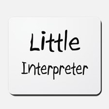 Little Interpreter Mousepad
