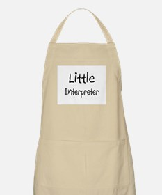 Little Interpreter BBQ Apron