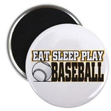 Eat, Sleep, Play Baseball Magnet