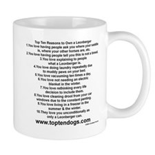 Cute Rescue leonberger Mug