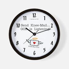 Send Knee-Mail... Wall Clock