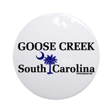 Goose Creek SC Ornament (Round)
