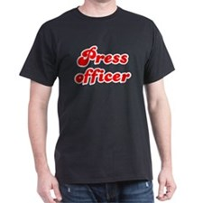 Retro Press officer (Red) T-Shirt