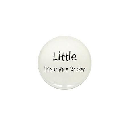 Little Insurance Broker Mini Button (10 pack)