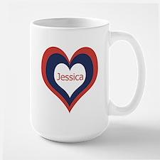Jessica - Large Mug