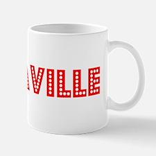 Retro Vacaville (Red) Mug