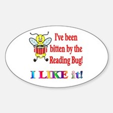 Reading Bug Oval Decal
