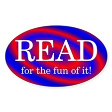 Read for Fun Oval Decal